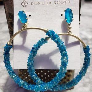 Kendra Scott Blue Russell Earrings
